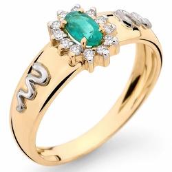 Anéis de Formatura em Ouro 18k com Pedras Sintétic... - RDJ JÓIAS