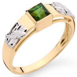 Anel de Formatura em ouro com pedras sintéticas - ... - RDJ JÓIAS