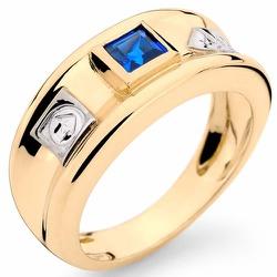 Anéis de Formatura Engenharia em Ouro 18k com Pedr... - RDJ JÓIAS