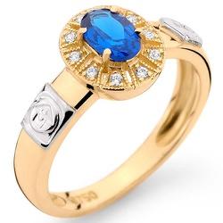 Anéis de Formatura em Ouro 18k com Brilhantes e Pe... - RDJ JÓIAS