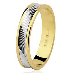 Aliança Diamantada em Ouro - 7501334000 - RDJ JÓIAS