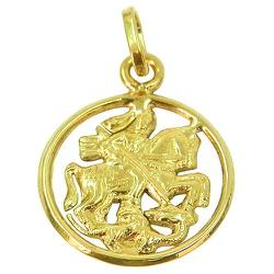 São Jorge de ouro - RDJ03001460 - RDJ JÓIAS