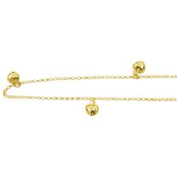 Tornozeleira de Ouro com Corações - J05800079 - RDJ JÓIAS