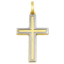 Pingente Masculino em ouro Cruz - J03100716 - RDJ JÓIAS