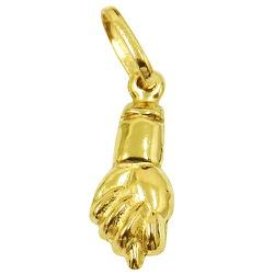 Figa de ouro P - J03100476 - RDJ JÓIAS