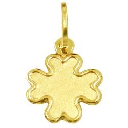 Pingente Trevo Pequeno em ouro 18k - J03100256 - RDJ JÓIAS