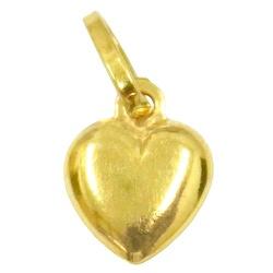Pingente Coração em ouro 18k - J03100516 - RDJ JÓIAS