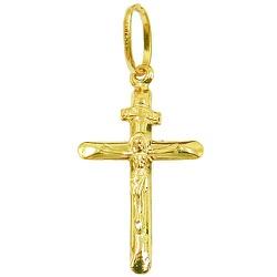 Pingente Cruz de ouro 18k - J03100124 - RDJ JÓIAS