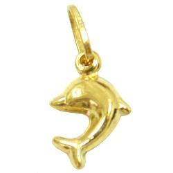 Pingente Feminino Ouro18K Golfinho Mini - J0310065 - RDJ JÓIAS