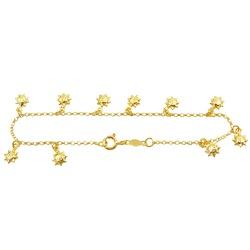 Pulseira de ouro Infantil Sol Baby - J05800044 - RDJ JÓIAS