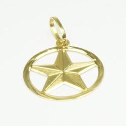 Estrela Salomão em Ouro - J16400015 - RDJ JÓIAS