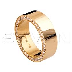 Aliança de casamento Seven - CES0004 - RDJ JÓIAS