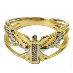Anel Espírito Santo em Ouro 18K - J17600254 - RDJ JÓIAS