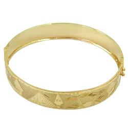 Pulseira Escrava em Ouro com Desenhos Egípcio - J0... - RDJ JÓIAS