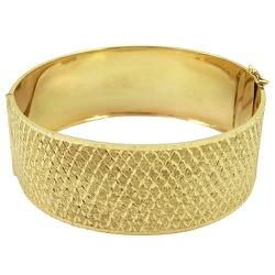 Bracelete de Ouro Feminino - J02700420 - RDJ JÓIAS