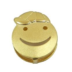 Pingente Happy Face Menino - J03100379 - RDJ JÓIAS