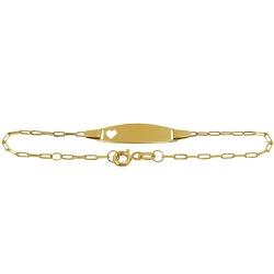 Pulseirinha de Ouro para Recém-nascido Cartier com... - RDJ JÓIAS
