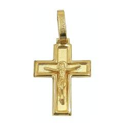 Cruz de Ouro 18K com Cristo - J03100382 - RDJ JÓIAS