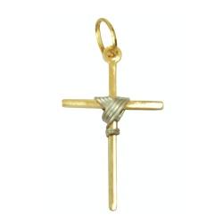 Cruzinha de Ouro 18k - J03101013 - RDJ JÓIAS