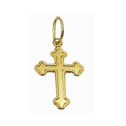 Pingente Cruz de Ouro 18K Barato - J03100115 - RDJ JÓIAS