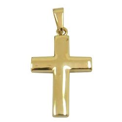 Pingente de Crucifixo Ouro 18K Polido - JPGR00012... - RDJ JÓIAS