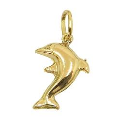 Pingente de Ouro 18K Golfinho - JPGR000520-9 - RDJ JÓIAS