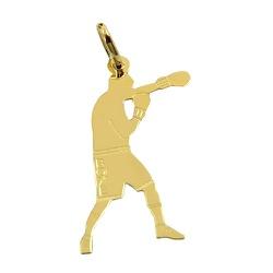 Pingente Lutador de Boxe em Ouro 18K - J14500493 - RDJ JÓIAS