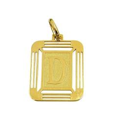 Pingente com Letra D Ouro 18K - J14500444 - RDJ JÓIAS