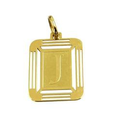 Pingente de Ouro 18K 750 com Letra J - J14500444 - RDJ JÓIAS