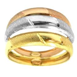 Anel em ouro 18k Três Fios - J10800881 - RDJ JÓIAS
