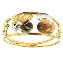 Anel Dois Corações em Ouro 18K - J15300728 - RDJ JÓIAS