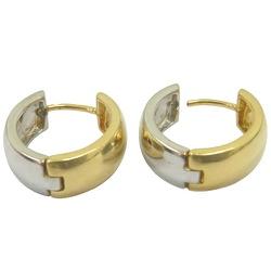 Brincos de Ouro Branco e Ouro Amarelo - J07600509 - RDJ JÓIAS