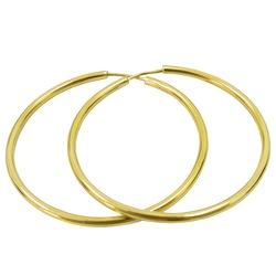 Argolas em Ouro Femininas Modelo Africano - JRD018... - RDJ JÓIAS