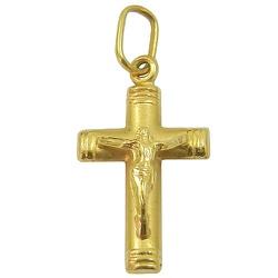 Cruz com Cristo em Ouro 18K - JRD031000-6 - RDJ JÓIAS