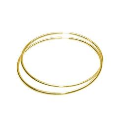 Argola Africana em Ouro - J01800395 - RDJ JÓIAS
