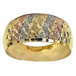 Anéis de Ouro Amarelo, Branco e Rosê - J02700303 - RDJ JÓIAS