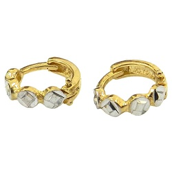 Argolinha Diamantada de Ouro 18K - J03001215 - RDJ JÓIAS