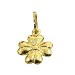 Pingente Trevo de 4 folhas em Ouro 18k - J03100169 - RDJ JÓIAS