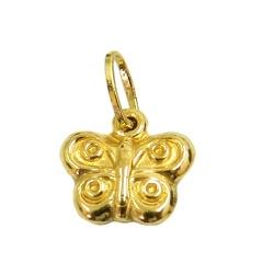 Pingente Borboleta em ouro 18k - J03100637 - RDJ JÓIAS