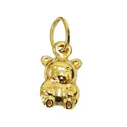 Pingente de Ursinho em Ouro 18K - J03100669 - RDJ JÓIAS