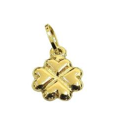 Pingente Trevo da Sorte em Ouro 18K - J03100670 - RDJ JÓIAS