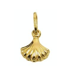 Pingente Concha do Mar em Ouro 18K - J03100675 - RDJ JÓIAS