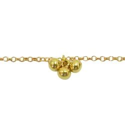 Tornozeleira Portuguesinha de Ouro 18K - J05800043 - RDJ JÓIAS