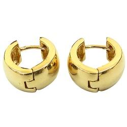 Brincos de Argola em Ouro 18K Click - J07600969 - RDJ JÓIAS