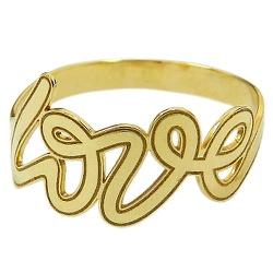 Anel Love em Ouro 18K Preço Baixo - J14500377 - RDJ JÓIAS