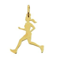 Pingente de Corredora em Ouro 18K - J14500687 - RDJ JÓIAS