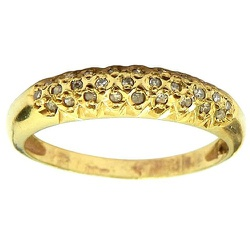 Aparador Diamantado de Ouro 18k com Brilhantes - J... - RDJ JÓIAS