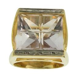 Maxi Anel em Ouro 18K com Cristal - JAR000158-6 - RDJ JÓIAS