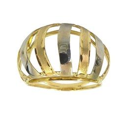 Anel Fabricado em Ouro 18K (0,750) Ondulado - JAR0... - RDJ JÓIAS