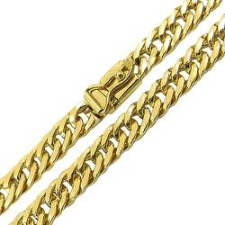 Cordão Masculino Groumet em Ouro 18K Maciço 60cm -... - RDJ JÓIAS